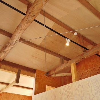 この天井の広さ!。※写真は前回撮影時のもの
