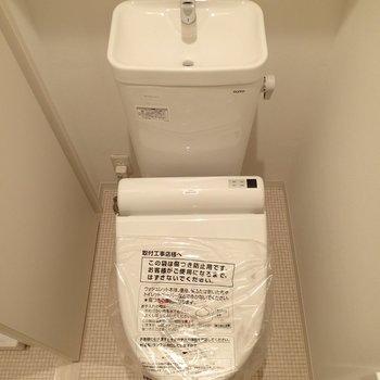 トイレはウォシュレット付き※写真は前回募集時のものです