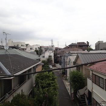 今日は曇りです