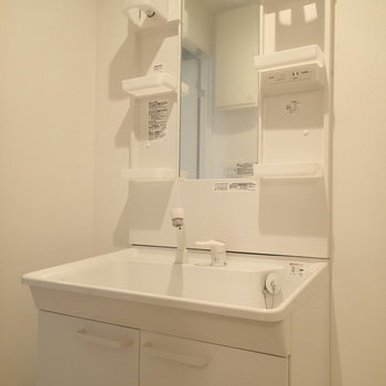 洗面台は使いやすそう※写真は前回募集時のものです