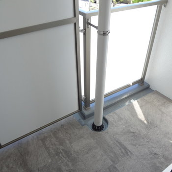 続いて上の階。大きさは変わらず。(※写真は2階の同間取り別部屋のものです)