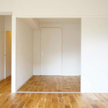 リビングから行けるこの個室が便利そう