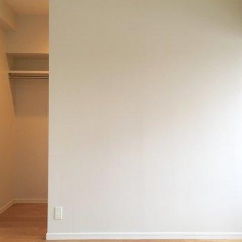 奥になにかあるのかな・・・?※写真は6階の同間取り別部屋のものです。