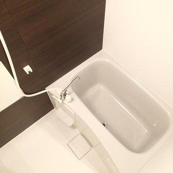 浴室も新品になっています。
