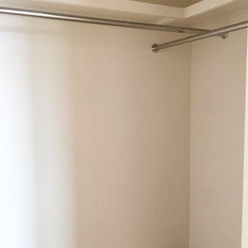 2部屋ともウォークインでたっぷり収納できますよ!※写真は前回募集時のものです。