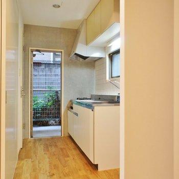 キッチンスペース、十分な広さ