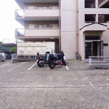 駐輪場が広い!!