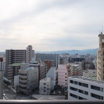 さすが、12階の眺望!気持ちよすぎる〜♥
