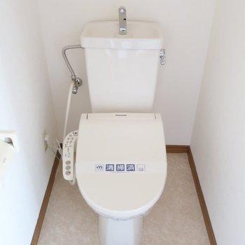 トイレもキレイ◎ウォシュレットもしっかり完備されていて安心!