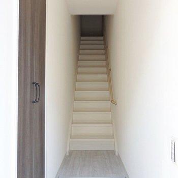 1階部分は階段!!!