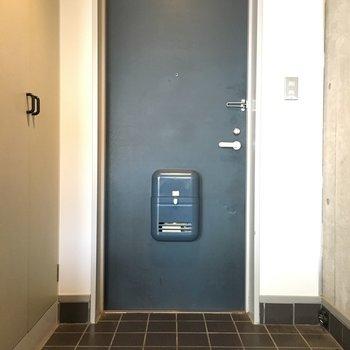 玄関スペースはゆったり。※写真は前回募集時のものです