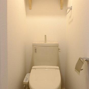 トイレは個室でウォシュレットあり