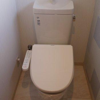 もちろんトイレも綺麗!