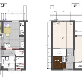 2階建ての贅沢暮らし◎