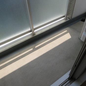 バルコニー(※写真は9階の同間取り別部屋のものです)