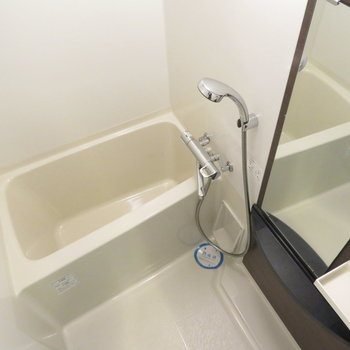 シャワーヘッドの大きなお風呂