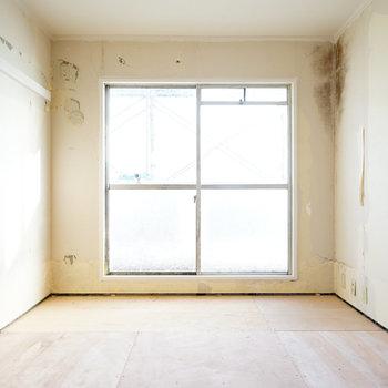 2階の寝室も明るい!※写真は工事中