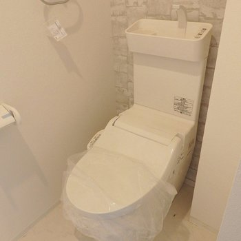 トイレはウォシュレット。