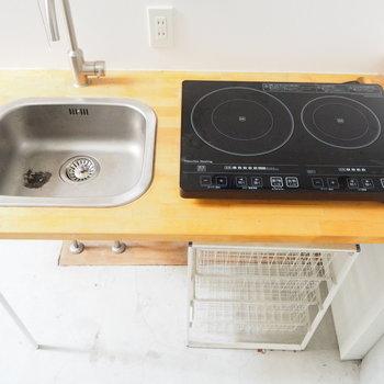 【1階】嬉しいIH、掃除がしやすい〜※写真は前回募集時のものです