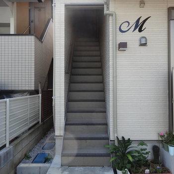 階段をあがってくださいな