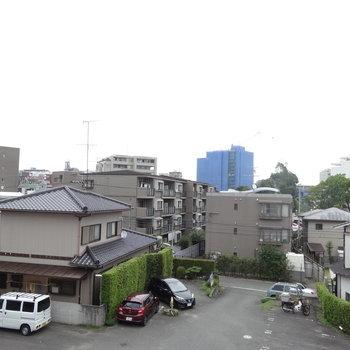 眺望は高い建物がなくて清々しい!