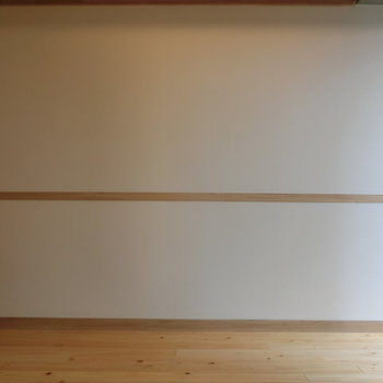 壁もこだわりデザイン※写真は8階の同間取り別部屋のものです