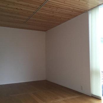 この天井がオシャレです。※写真は別部屋(1LDK)のプランです
