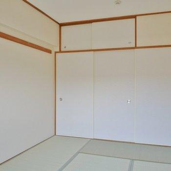 綺麗な和室で落ち着きます。