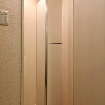 トイレの中に、まさか…