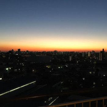 夜景が惚れ惚れします。