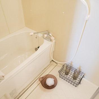 お風呂は追い焚きも付いてます!