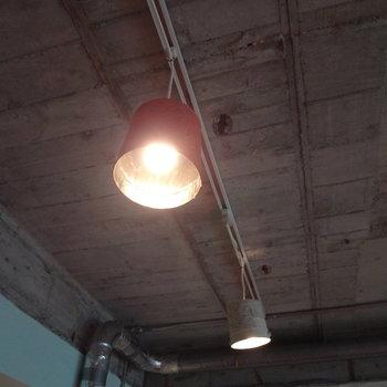 ライトもオシャレ。