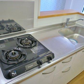 調理スペースもまずまずです