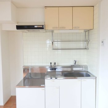キッチンは広々!