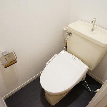 トイレはウォシュレット付きに
