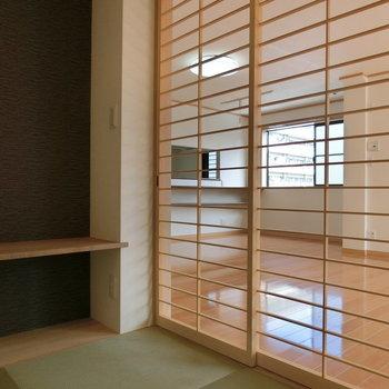 京都。和みの茶室