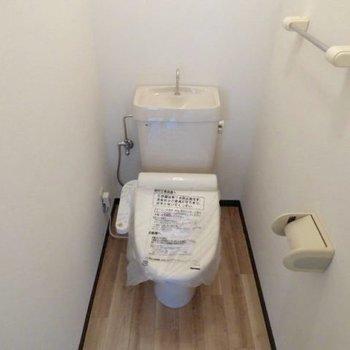 おトイレ。