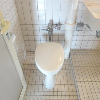 トイレがなんだか愛らしい