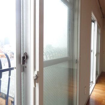 2重窓で音をカット!