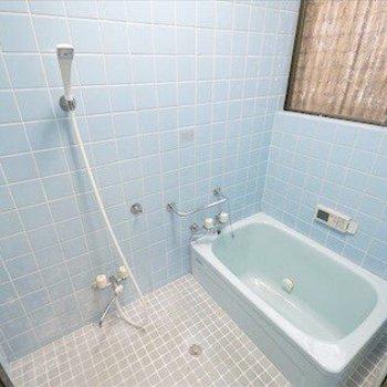 お風呂も昔ながら。