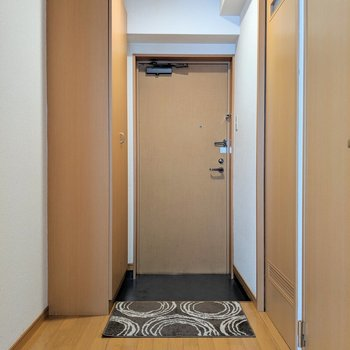 廊下もゆとりあります。(※写真の小物は見本です)