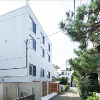 鎌倉に佇むデザイナーズアパート