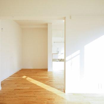 窓が大きくて明るさも◎