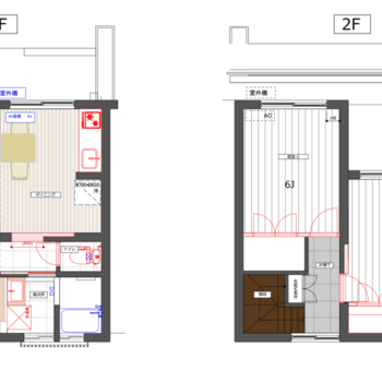 2階建ての贅沢暮らし◎ ※反転の間取りとなります