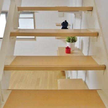 階段は滑りにくくなってます。※写真は前回撮影時のもの