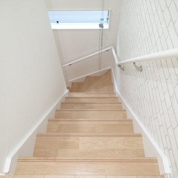 ロフトへの階段!階段です!