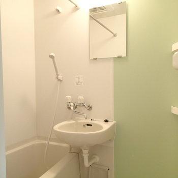 お風呂は2点ユニットなんです。