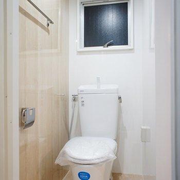 トイレも清潔感ありますね
