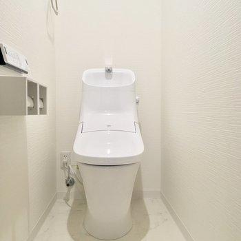 つるんと新しいトイレ