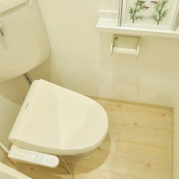 落ち着く独立トイレ